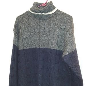J Crew 100% Wool Sweater - Turtle Neck - L
